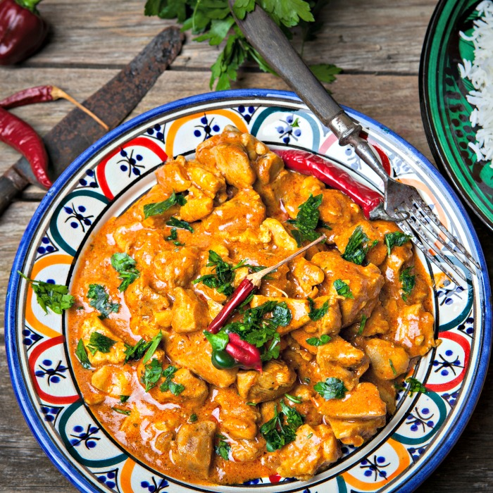 Low-Carb Coconut Curry Chicken