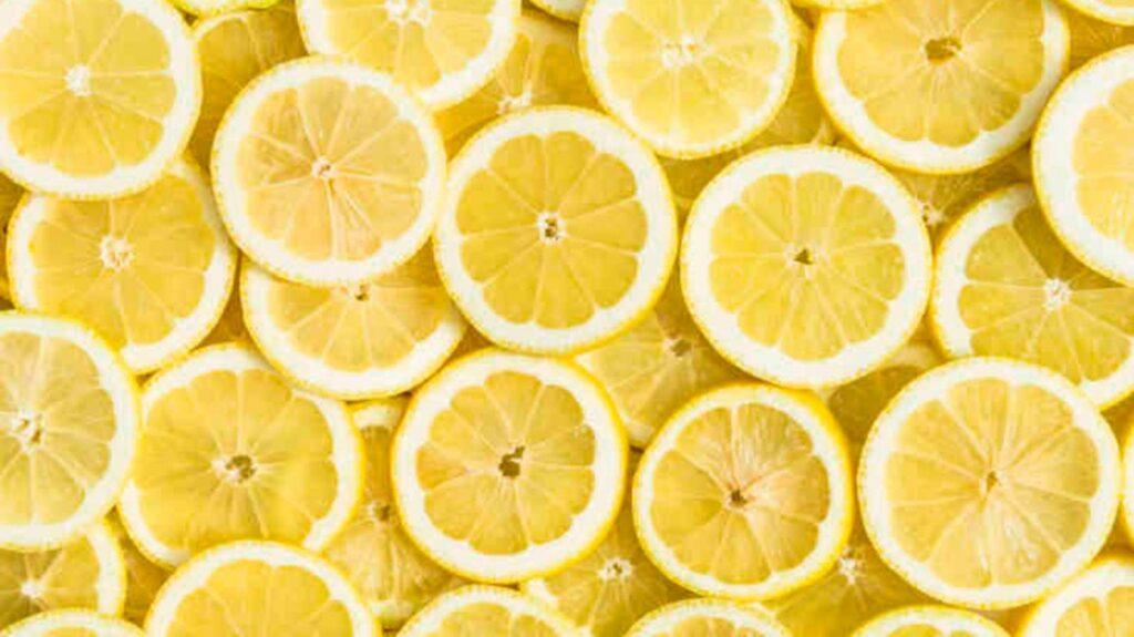 drink warm lemon water