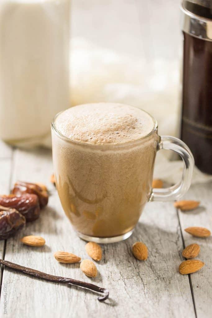 healthy vanilla latte