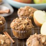 lectin free apple walnut muffin